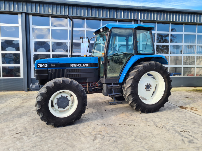 1996 New Holland 7840 Tirbo