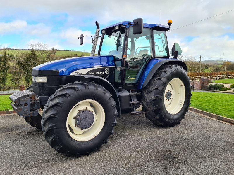 1999 New Holland 8560