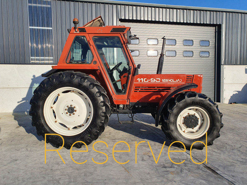 2002 New Holland 110-90